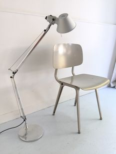 Michele De Lucchi and Giancarlo Fassina for Artemide – Tolomeo Micro table/floor lamp.