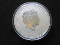 Australia - $ 30 - 1 kg / 1000 gram Lunar II 2008 year of the mouse, 999, silver coin