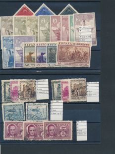 Spain 1850/1970 - Collection on stock pages.