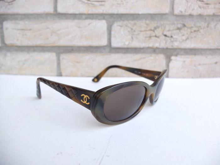 Chanel Quilted Sunglasses Womens Catawiki