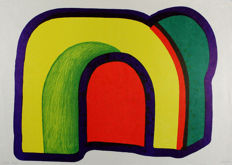 Howard Hodgkin - Composition with Red