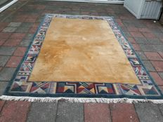 Nice hand-knotted Nepalese, Ortiental, modern carpet - 313 x 205 cm, Note!