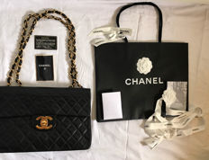 Chanel - Quilted Maxi flap Bag
