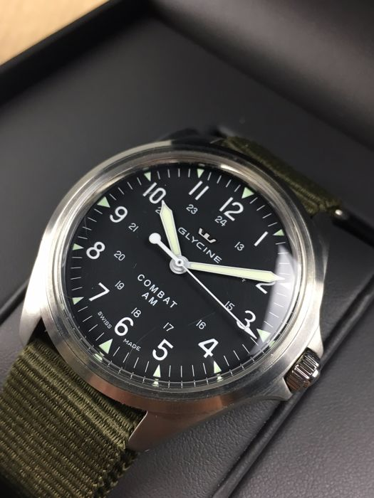 Glycine Combat 7 Vintage Automatic Reference 3843 19 Men S Watch Catawiki