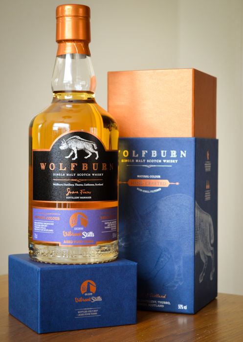 Wolfburn - Vibrant Stills - 4 years old, 1440 bottles