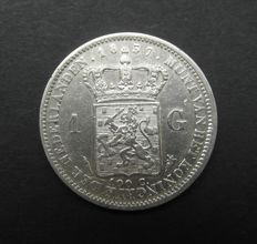 The Netherlands – 1 guilder 1837, Willem I – silver