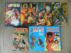 Atomeka Press - A1 #1-6 Complete Set + The A1 True Life Bikini Confidential - 7x sc (1989/1992)