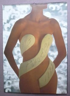 John Claridge - Pirelli Calendar - 1993 - In original box