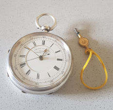 9. John Forrest London – big chronograph pocket watch – England around 1876