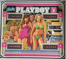 Paul Faris - Playboy flipper (pinball machine) - 1978