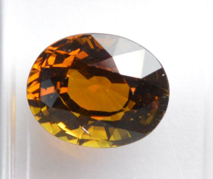 Orange tourmaline – 2.48 ct – No reserve price.