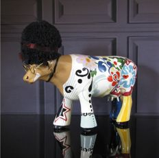 CowParade - Woodstock Cow Large - Christina Campana