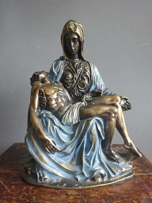 Bronze Pieta - France - 2nd half of 20th century