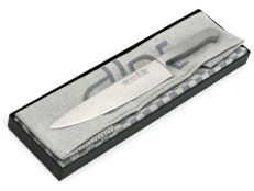 Gude Knife in a gift box with towel