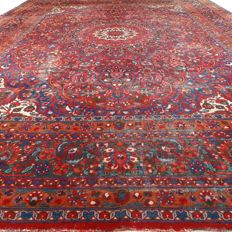 "Old MESHED - Iran - 425 x 320 cm. - ""Persian Vintage carpet - XXXL"" - Second half previous century"
