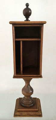 Large (58 cm) tobacco or bible cabinet (?), the Netherlands, ca. 1930
