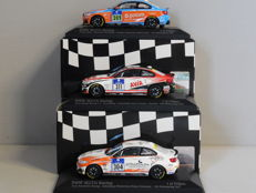 Minichamps - Scale 1/43 - Lot with 3 x BMW M235i Racing 24h Nurburgring 2015