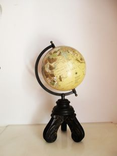Globe on wood stand, end 20th century
