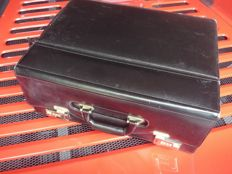 Leather tool case approx. 50x20x37cm