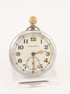 Jaeger-LeCoultre pocket watch, British military WWII