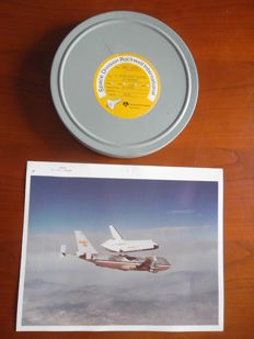 Film 16 mm: Eerste testlanding space shuttle (1977)