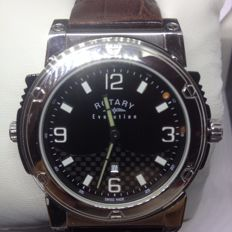 Rotary Evolution EGS0007/TZ2190 Gents Reversible Dial Brown Leather Watch