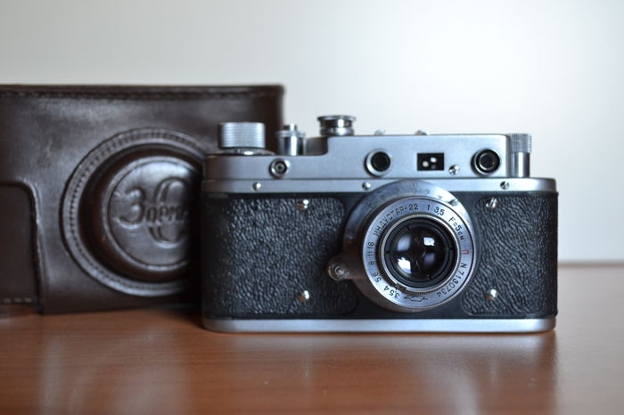 "Original Camera ""Zorki C "". USSR, 1957 with leather case"