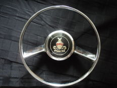 1 exceptionally rare horn ring of the Rover 1952, diameter approx 22 cm