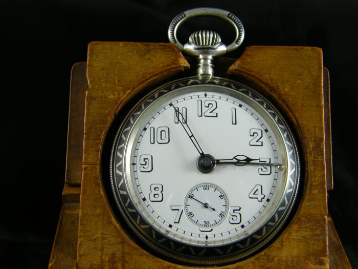 50 Geneve B.F-Budzik pocket watch 1916
