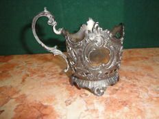 WMF - Art Nouveau Silver Plated Tea Glass  Holder, ca. 1900's