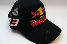 Marc Marquez signed Red Bull #93 cap
