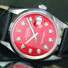 1981s Rolex Oyster Perpetual Quick Date Automatic Men's with Band 15000