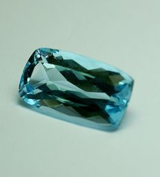 Topaz, swiss-blue, 14,87ct