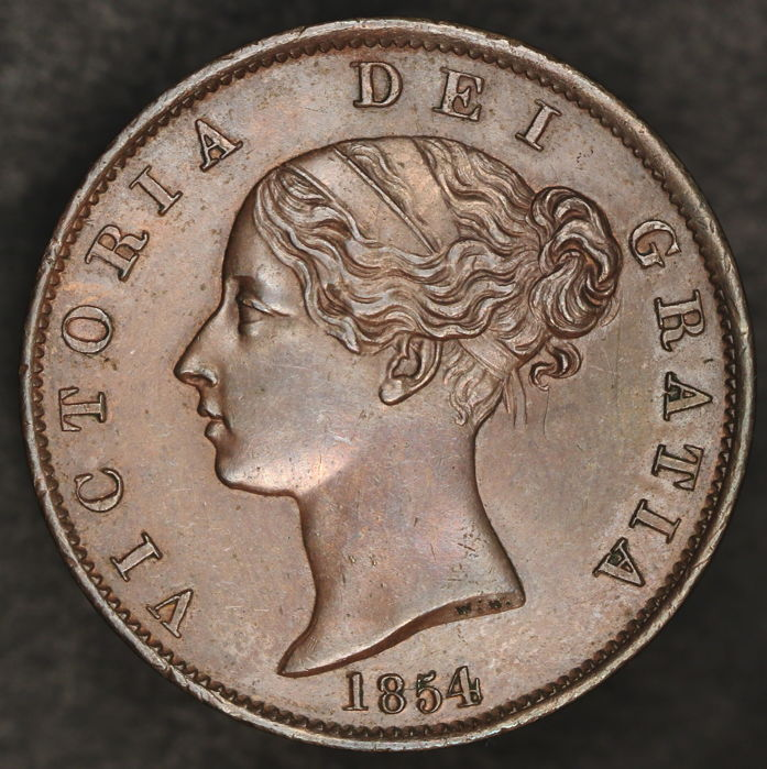 United Kingdom – ½ Penny 1854 Victoria
