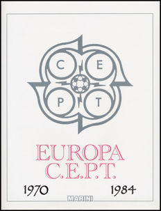 Europa CEPT 1970/1984 – Complete collection ordinary mail