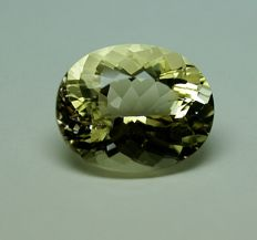 Scapolite, yellow, 12.63 ct