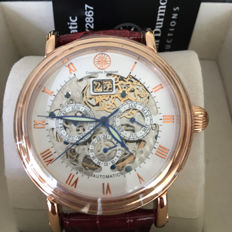 Constantin Durmont Skeleton automatic men's watch, 2017, never worn.