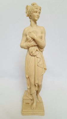 Venus statue of alabaster/resin, Greek mythology