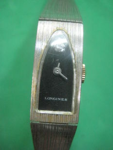 LONGINES women's watch with 14 carat gold plated armis Of the decade of the 60's