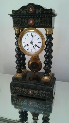 Old French pendulum clock Napoleon III – 1880