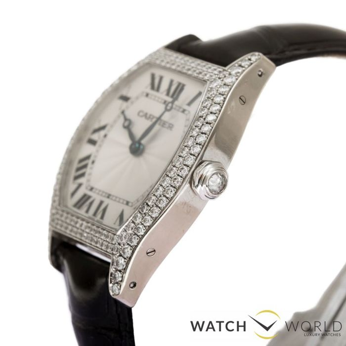 d8ebadc4cf2bc Cartier Tortue XL Large, Factory Diamond, -women's watch. Lot reference  12570997