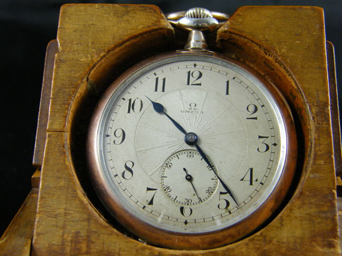 51 Omega Grand Prix pocket watch 1914