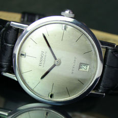 Tissot Stylist Visodate Winding Steel Mens Vintage Watch