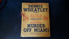 Dennis Wheatley - Murder off Miami  - 1936