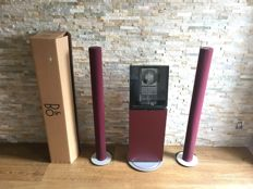 Bang and Olufsen - Beosound Ouverture - 2x Beolab 6000 Red  - Cd Stand Red ( Very Rare )