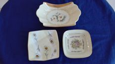 Pocket emptiers in fine hand decorated Limoges porcelain