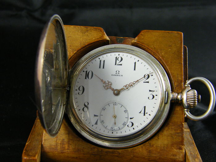 49 Omega savonette pocket watch 1915