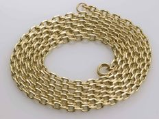 18 kt gold chain necklace.  Length: 64 cm *** No reserve price ***