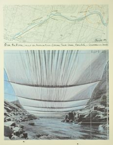 Christo - Wrapped Reichstag, Over the River, The Gates