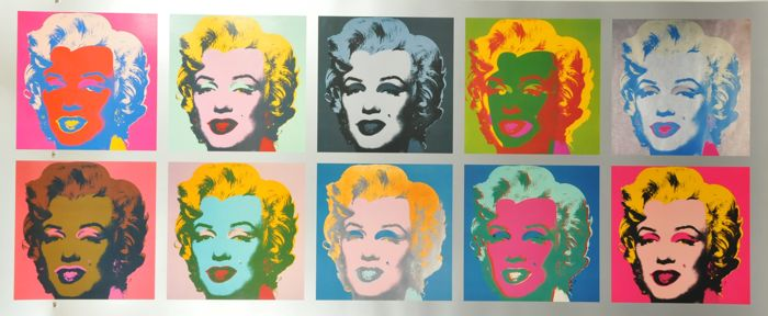 Andy Warhol - Marilyn Monroe - Tableau